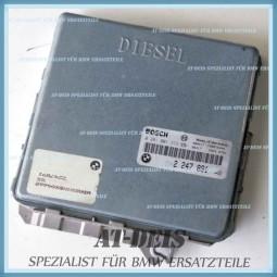 BMW E39 5er 525tds Diesel Motorsteuergerät 2247891 0281001373