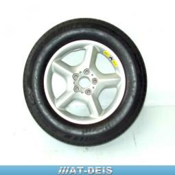 BMW E53 X5 Alufelge 7,5x17 ET40 235/65R17 M+S Michelin 1096159