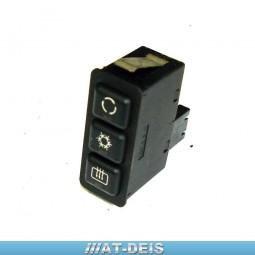 BMW E34 5er M5 Schalter Klimaanlage Umluft Heckscheibe 1391764