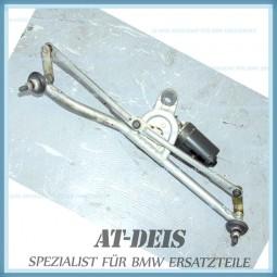 BMW E46 3er Wischermotor + Wischergestänge 8391303 8352155