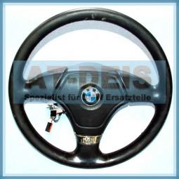BMW E39 5er E34 E31 8er Sportlenkrad 3 Speichen Kompl. 1162097