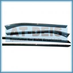BMW E39 5er Interieurleisten Dekorleisten Lack Cubic Tür 4x Anthrazit