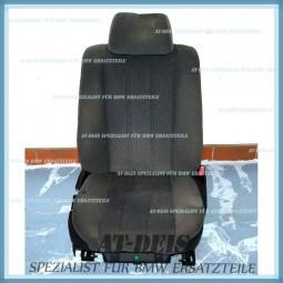 BMW E34 5er Beifahrersitz Stoff Grau Sitz Rechts 8154210