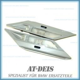 BMW E38 7er Innenleuchten Hinten L+R Grau 8352602 8352601