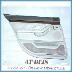 BMW E38 7er Türverkleidung Leder HL Grau 8182071