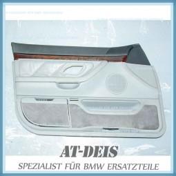 BMW E38 7er Türverkleidung Leder VL Grau 8178373