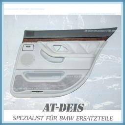 BMW E38 7er Türverkleidung Leder HR Grau 8182072