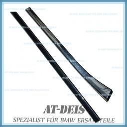 BMW E39 5er Interieurleisten Dekorleisten Cubic Tür VR + HR 8172032 36