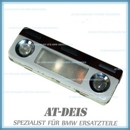 BMW E38 7er Ambientebeleuchtung Vorne Leuchte Holz Grau 8360109
