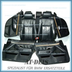 BMW E39 5er Touring Lederausstattung Ledersitze Schwarz Komplett