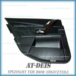BMW E60 E61 5er Türverkleidung Leder Dakota Schwarz HL DSP 7078925