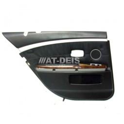 BMW E65 7er Türverkleidung HL Leder Nasca Schwarz DSP Rollo 7038779