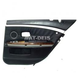 BMW E65 7er Türverkleidung HR Leder Nasca Schwarz DSP Rollo 7038780