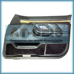 BMW E38 7er Türverkleidung Leder Schwarz VR 8178812