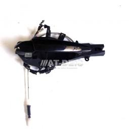 BMW E90 E91 3er Träger Türgriff Griffbügel Lichtpaket HR Black Sapphir