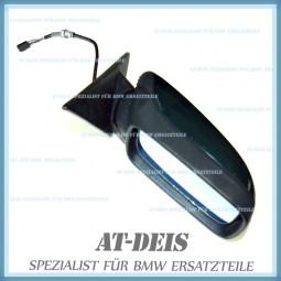 BMW E34 5er El. Aussenspiegel Rechts Facelift Islandgrün