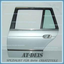 BMW E39 5er Touring Tür HL Hinten Links Arktissilber 8266725