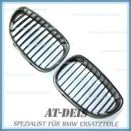 BMW E60 E61 5er Ziergitter Nieren Frontgrill L+R 7027061 7027062