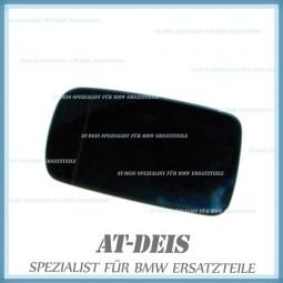BMW E46 3er Coupe E65 7er Spiegelglas beheizt Weitwinkel links 8247131