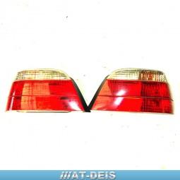 BMW E38 7er Rückleuchten Heckleuchten R+L Facelift 8387635 8387636